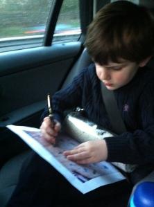 Concentration!