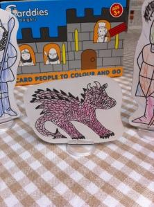 The Dragon who lost his colour!