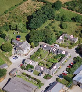 Family-friendly luxury farm holiday cottages in Cornwall