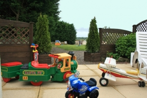 Toddlers will love the selection of ride on toys!
