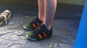 wet trainers