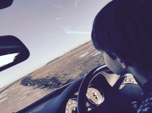 Driving on along the Causeway