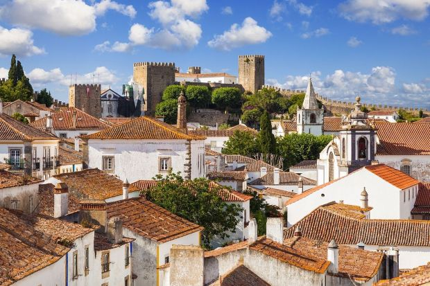 Obidos, Portugal (image via Wik. author Lacobrigo)