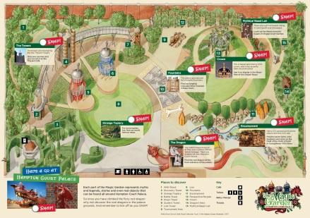 MAGIC GARDEN MAP